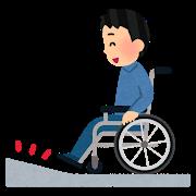 車椅子タイヤキレイ